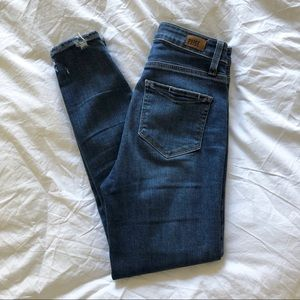 Paige Jeans // Margot Crop High Rise Distressed